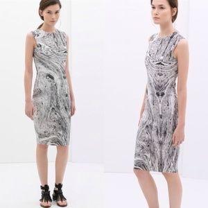 Zara Marble Dress Small